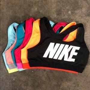 Set of 6 Nike Sports Bras